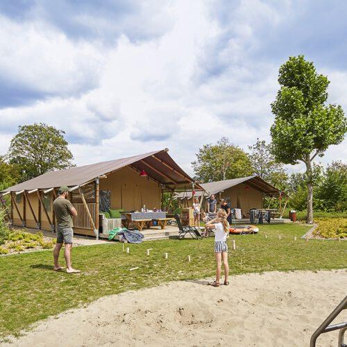 Glamping Holland ist ideal für freilandliebende Menschen