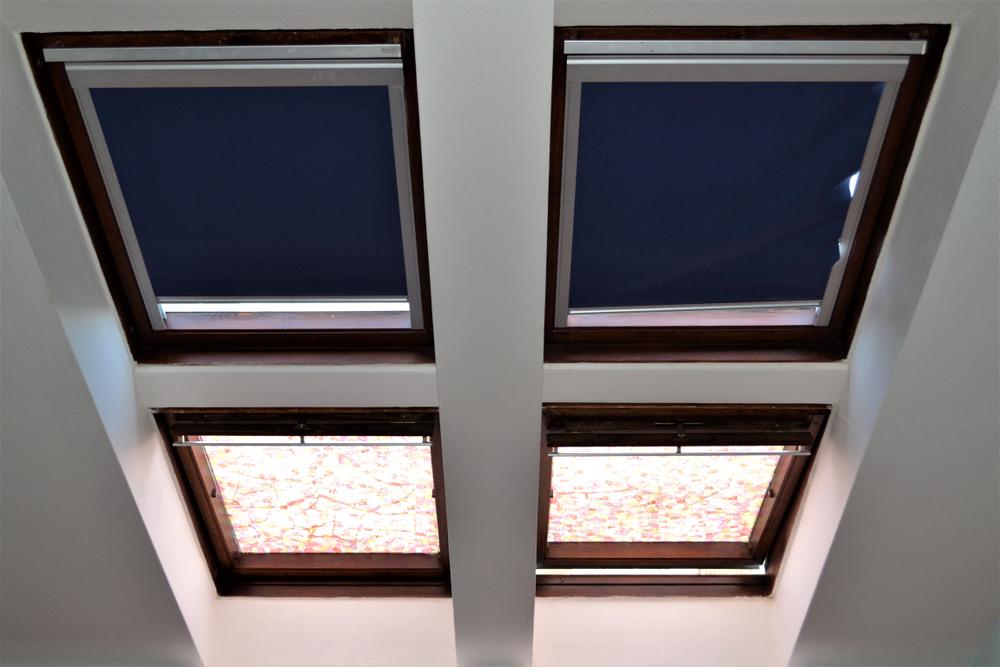 Eine Dachfenster Rollo zum Verlieben